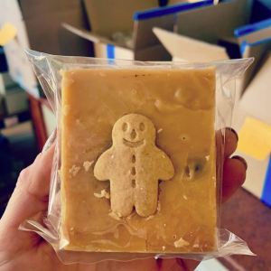 Slab Artisan Gingerbread Man Fudge